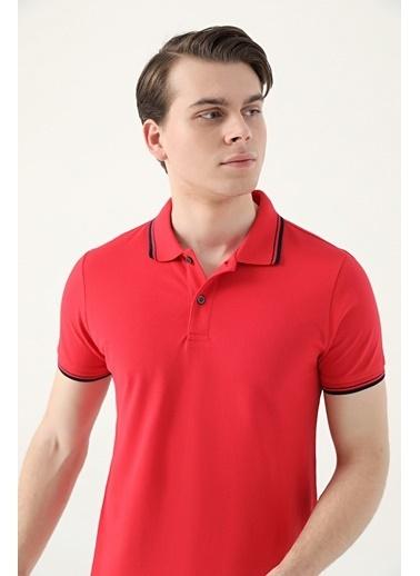 D'S Damat Tişört Kırmızı